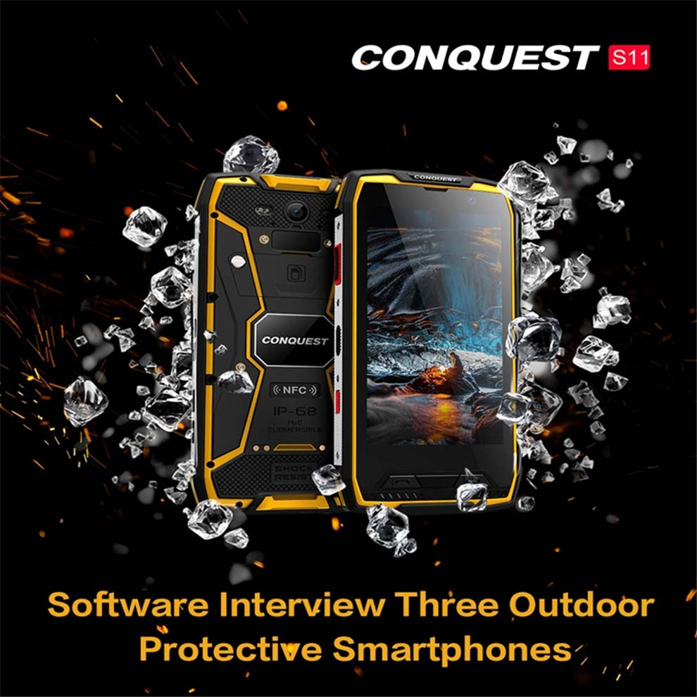 CONQUEST S11 Rugged SmartPhone 1