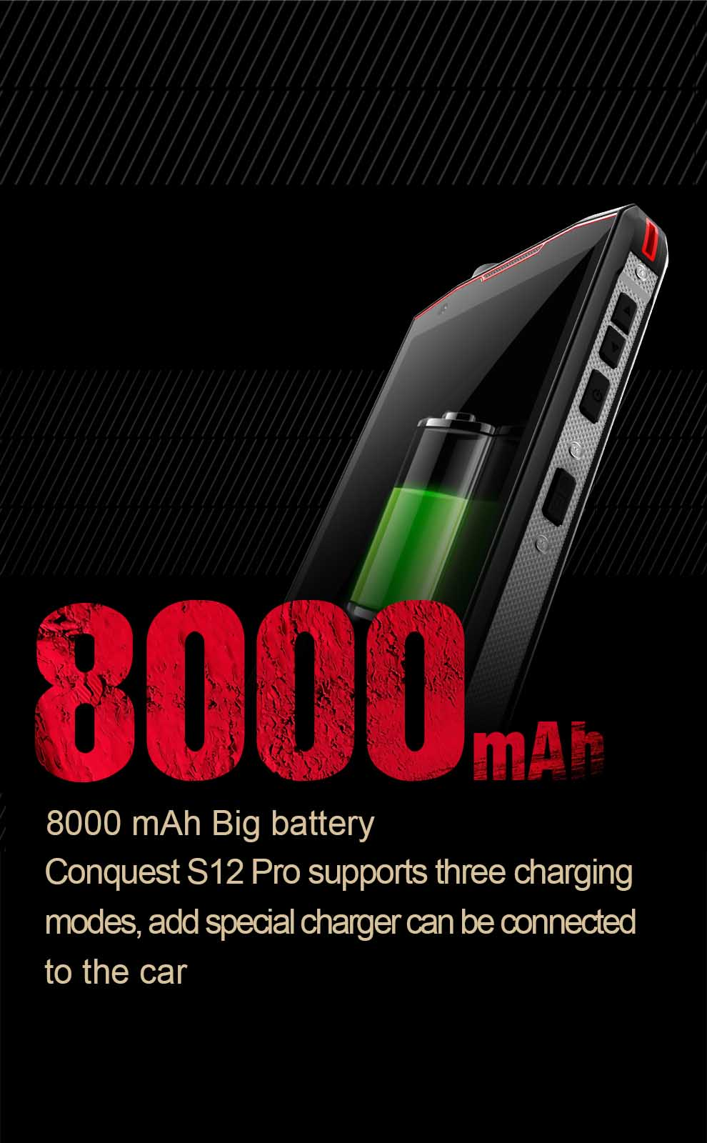 Conquest S12 Pro Rugged Smartphone 5