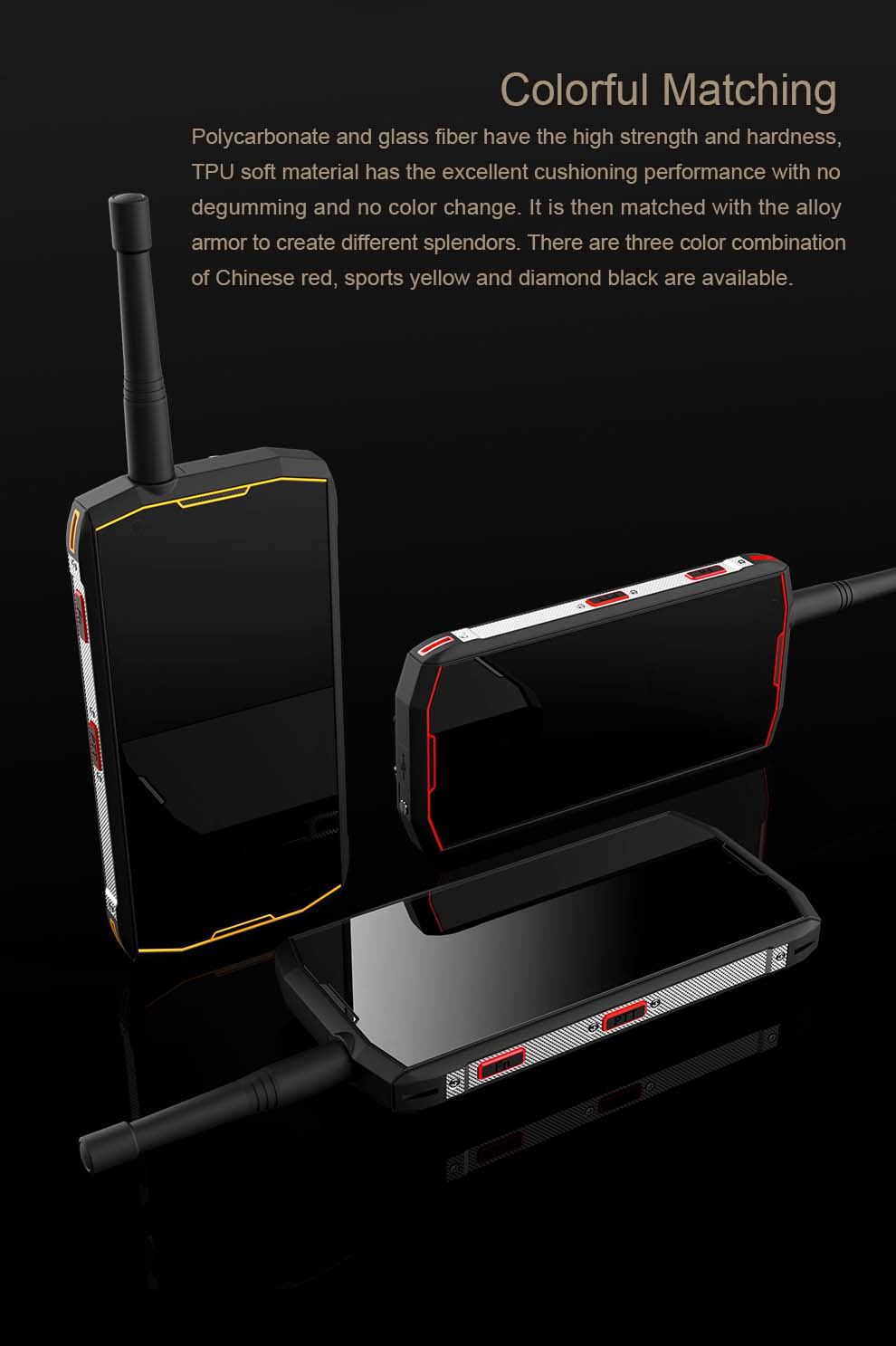 Conquest S12 Pro Rugged Smartphone 2