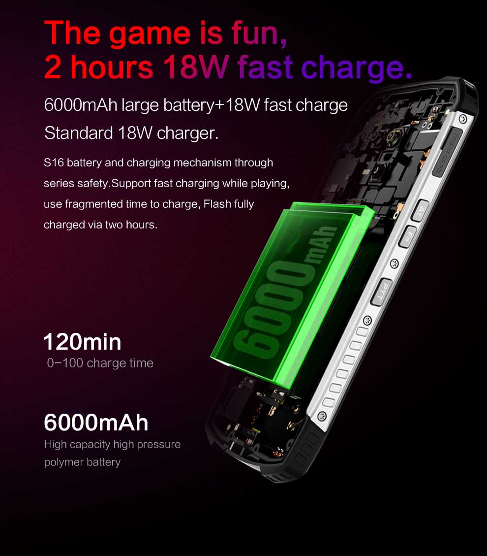 Conquest S16 Rugged Smartphone 3