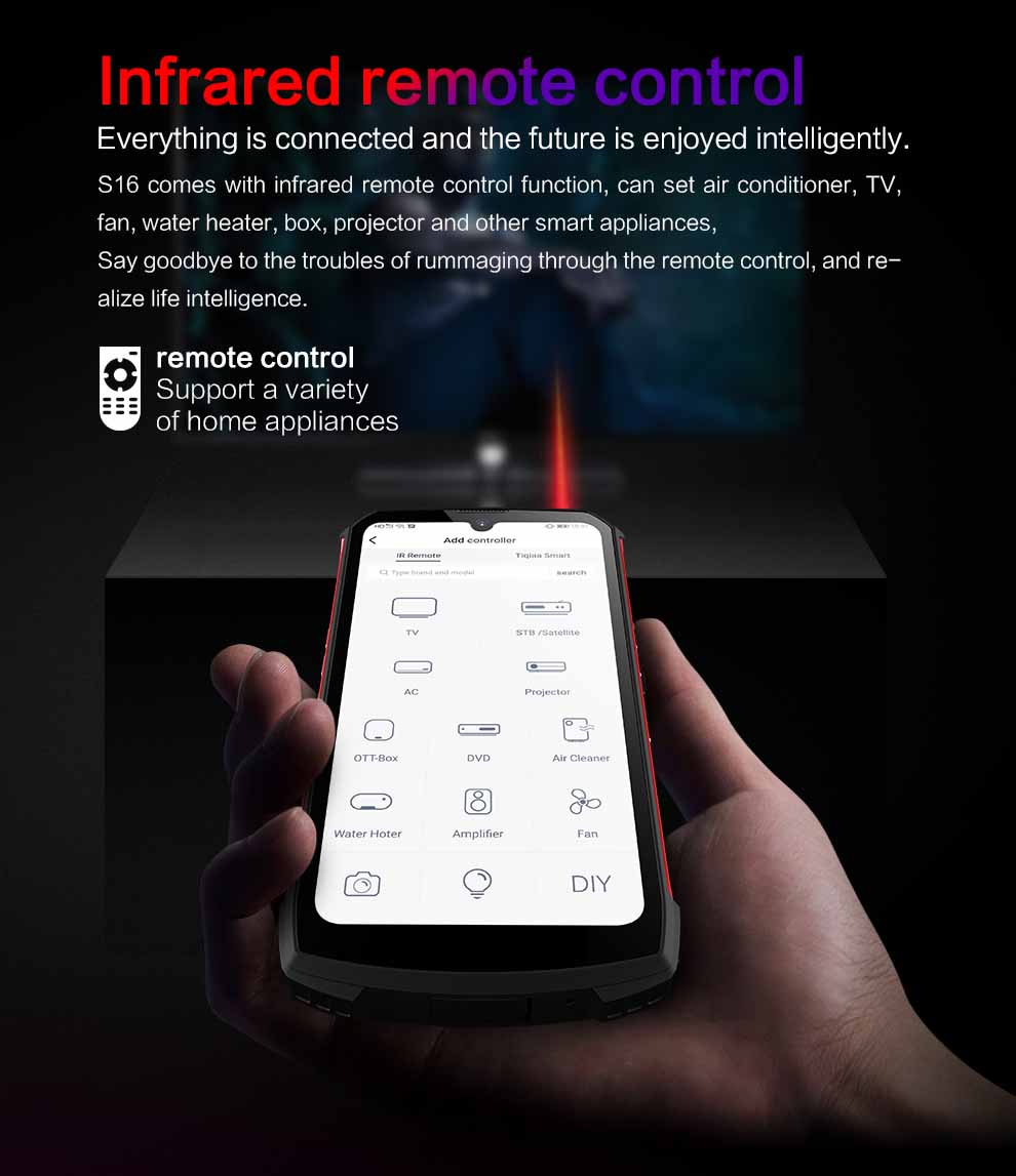 Conquest S16 Rugged Smartphone 5