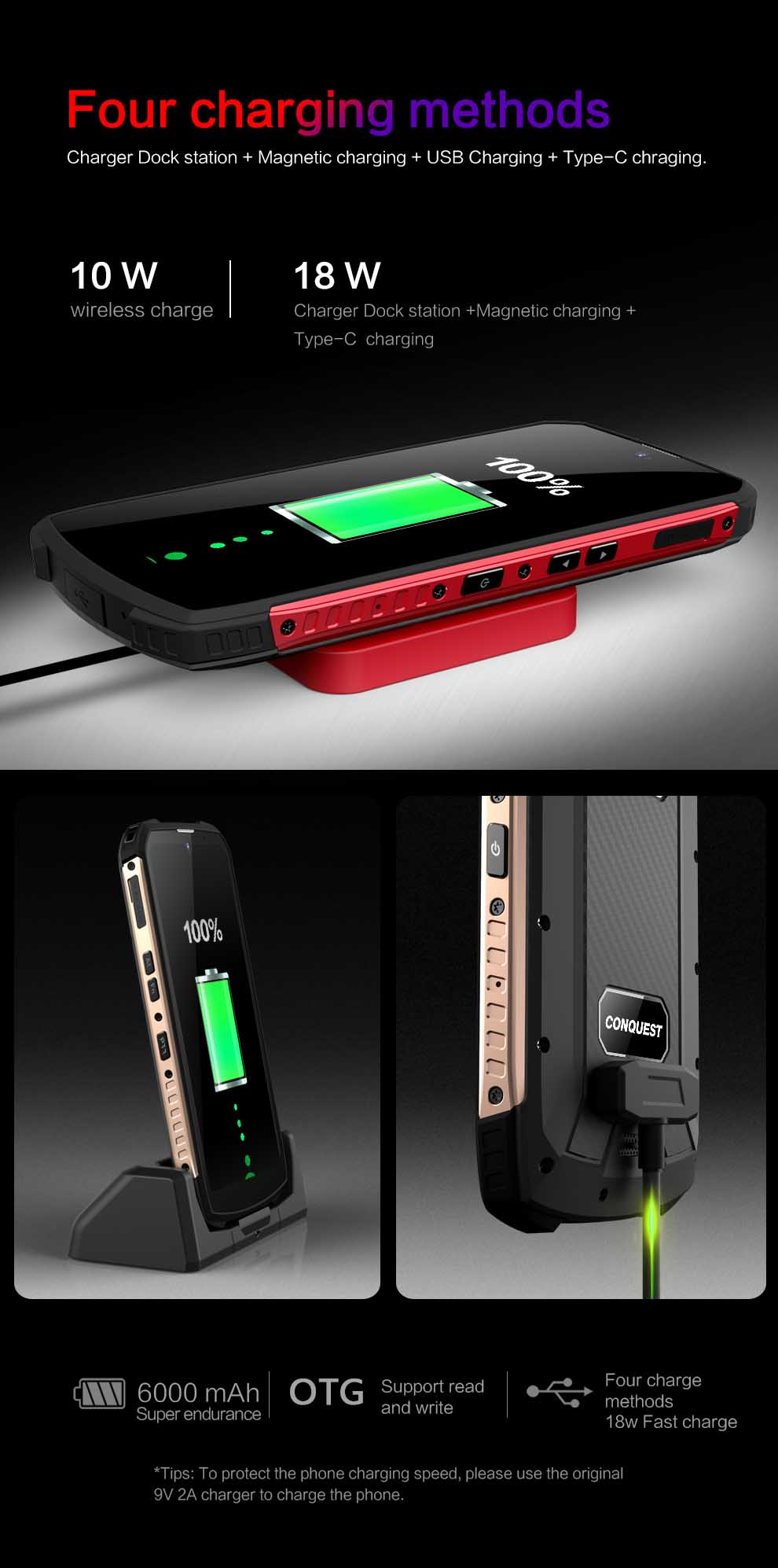 Conquest S16 Rugged Smartphone 2