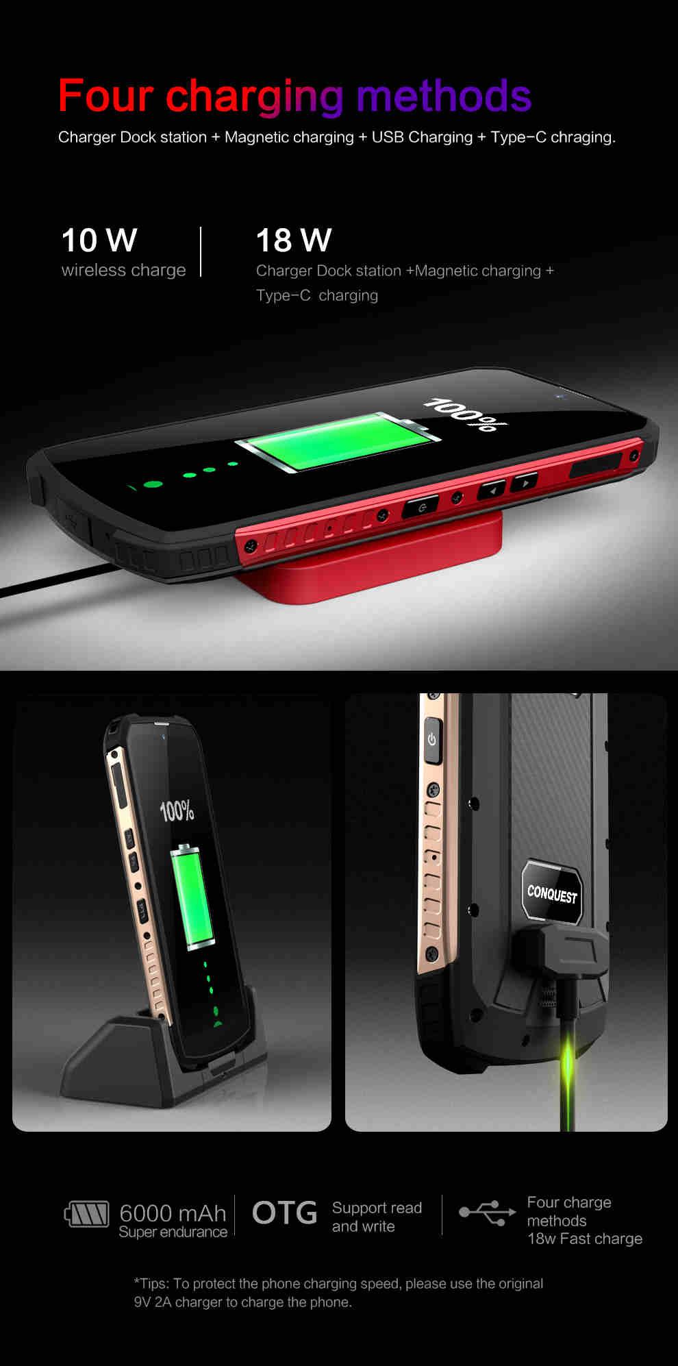 Conquest S16 ATEX Rugged Smartphone 8