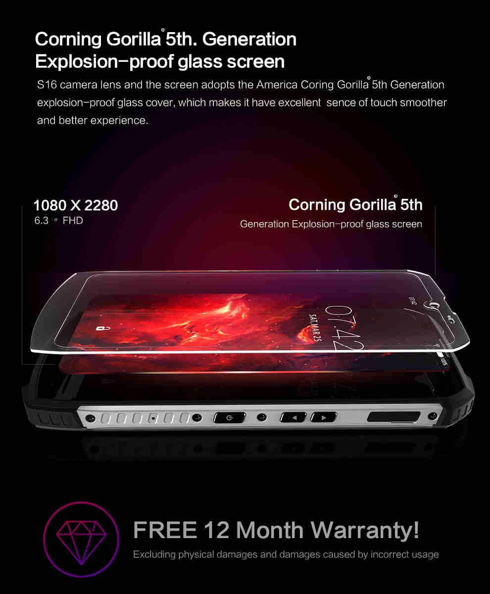 Conquest S16 ATEX Rugged Smartphone 4