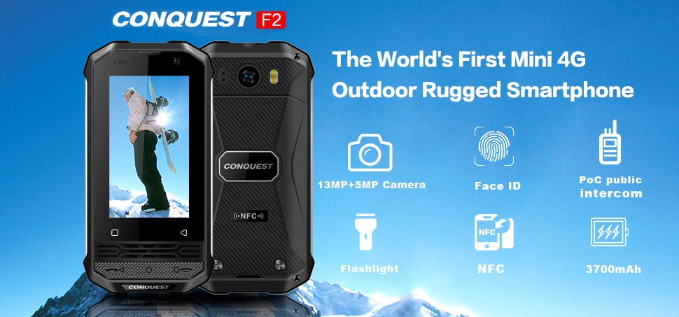 Conquest F2 Luxury S12 Pro 2020